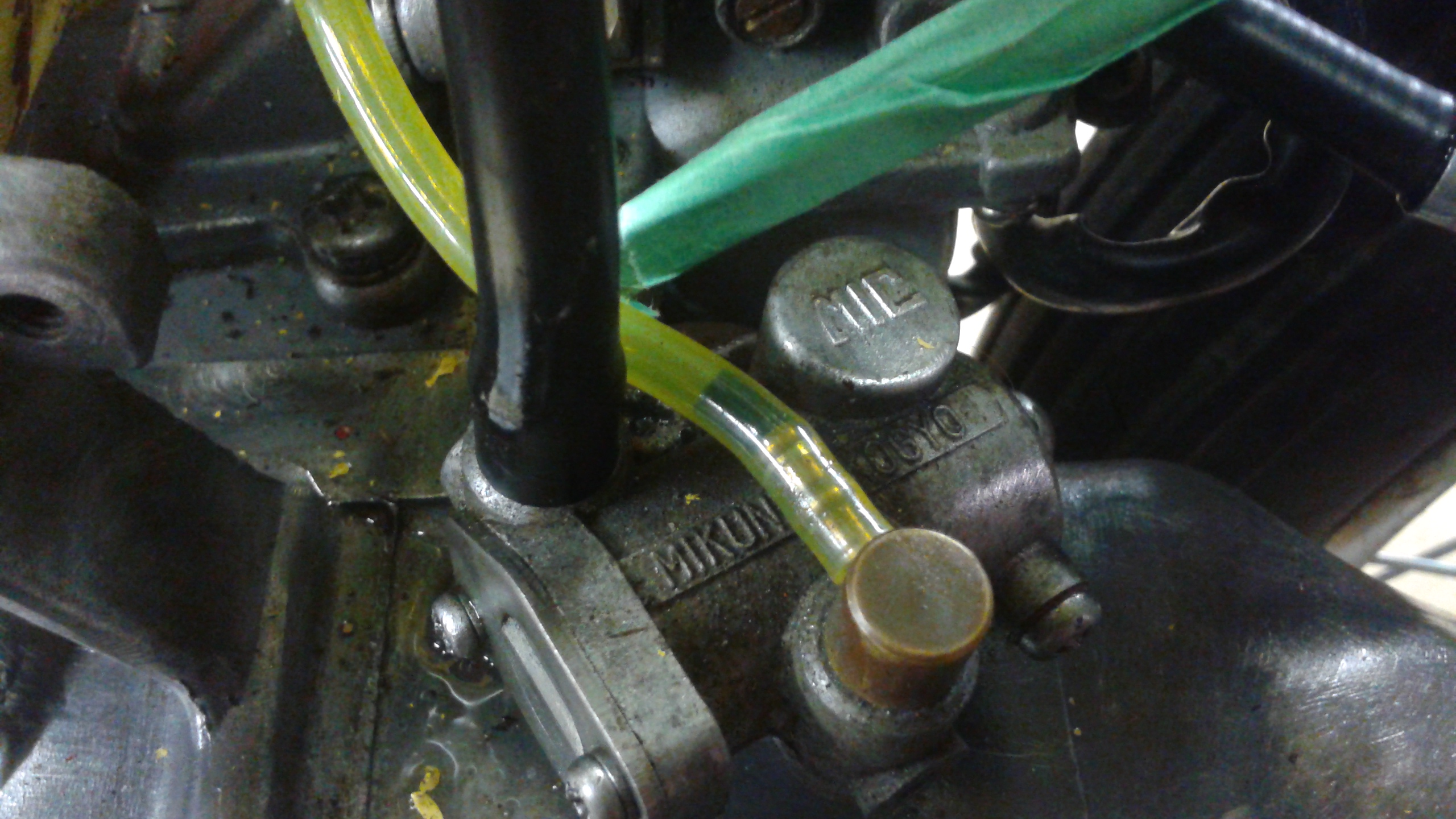 1981 Suzuki Fa50 - bad fuel leak, with fuel in one line only