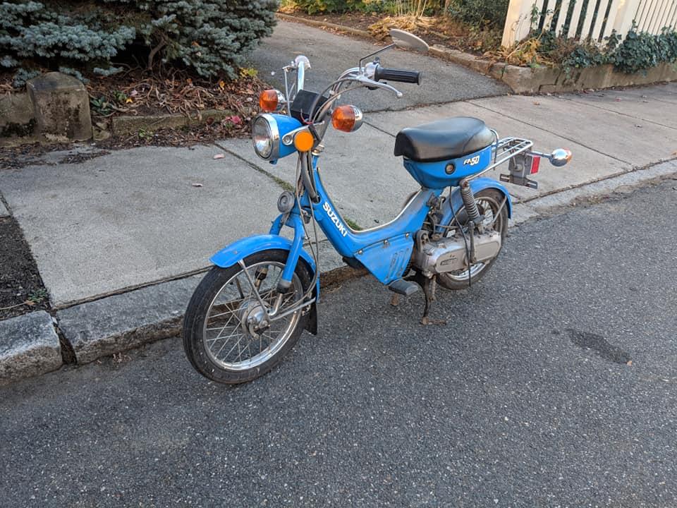 Suzuki FA50 rescue  — Moped Army