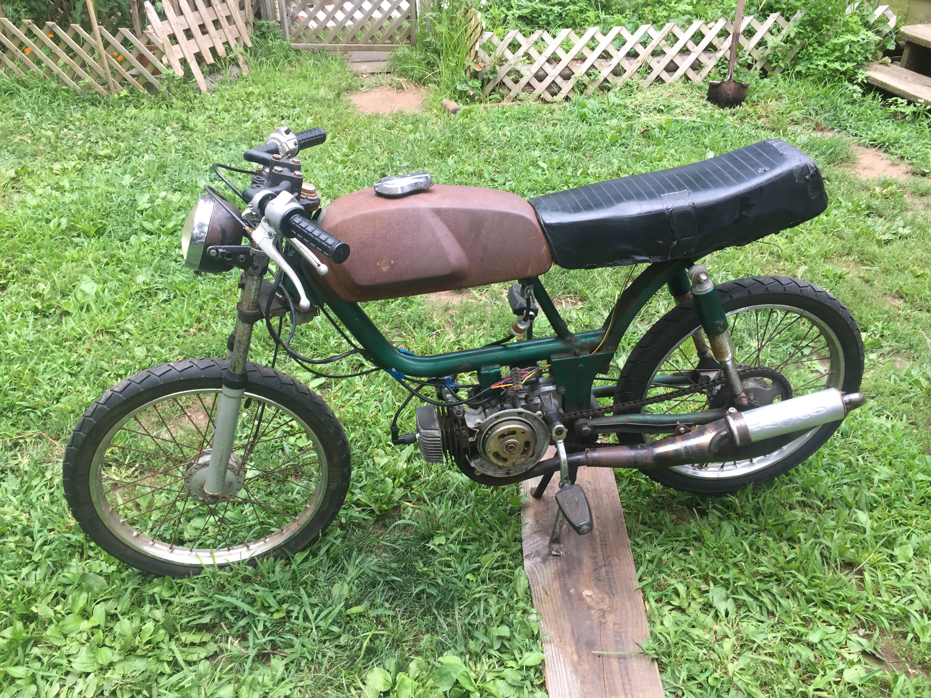 Starting my General Five Star Moped Issues — Moped Army