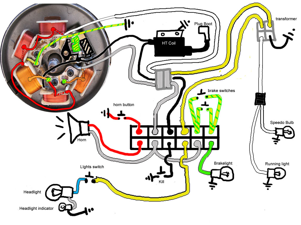 re: peugeot 103/vogue wiring questions — moped army peugeot 103 wiring diagram