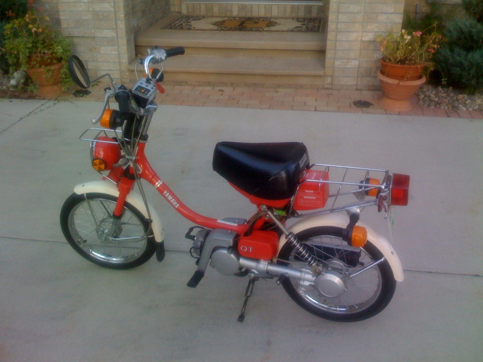 1984 Yamaha QT50 Carburetor Repair — Moped Army