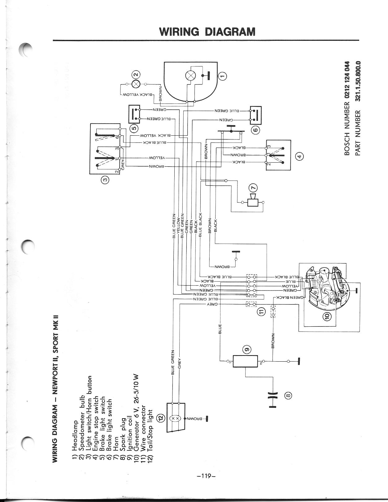 77 Puch E50 Maxi Stalls And Stutters Moped Army Wiring 6 Volt Ignition Coil Circuit Diagram Puchsm119