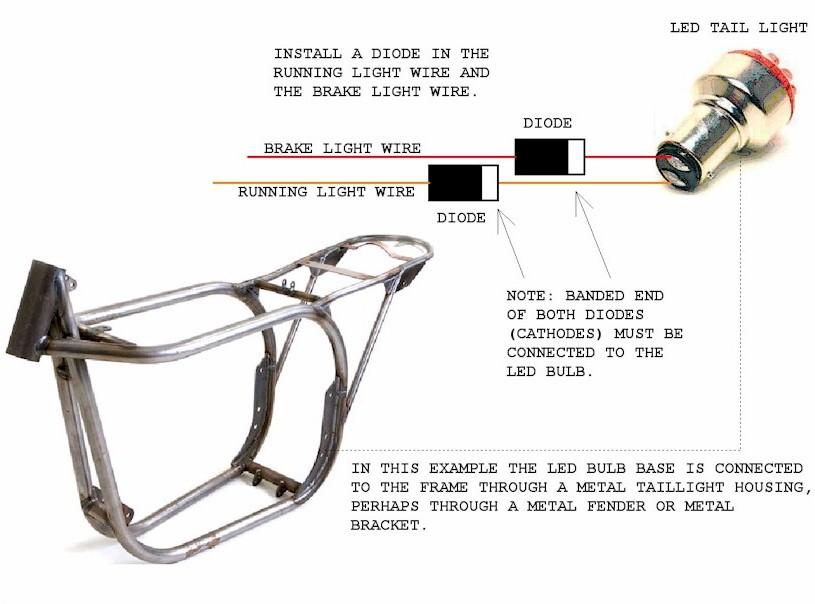 Motorcycle Led Tail Light Wiring Diagram