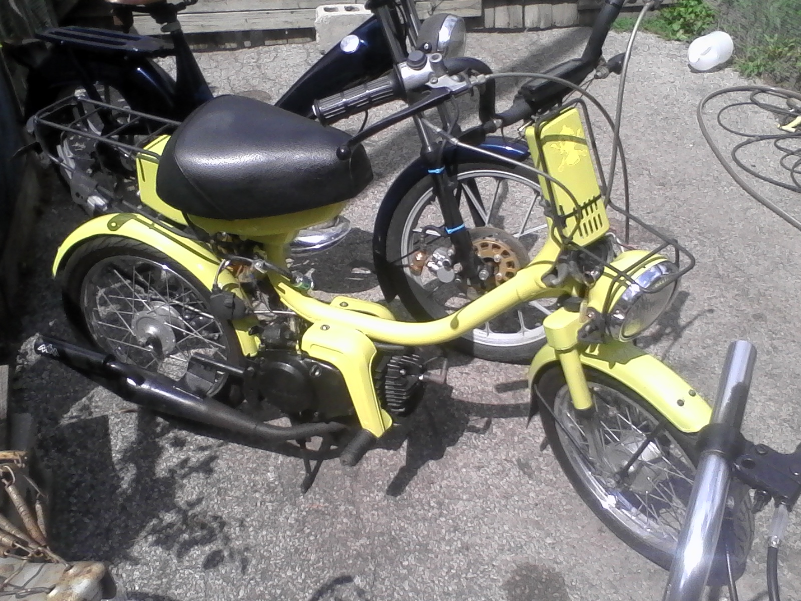 Qt50 Lots of questions — Moped Army