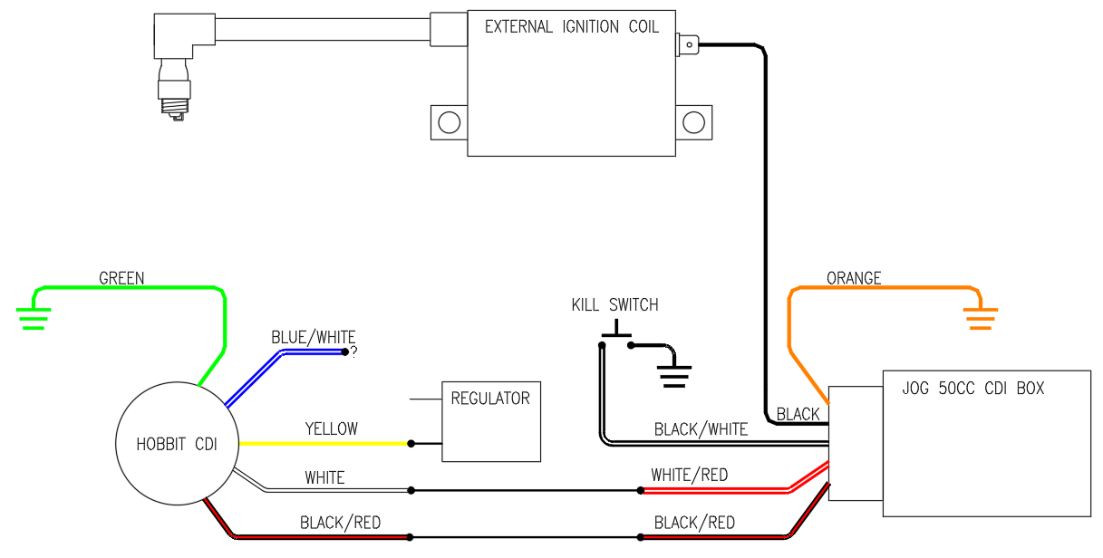 Cdi Ignition Wiring Diagram