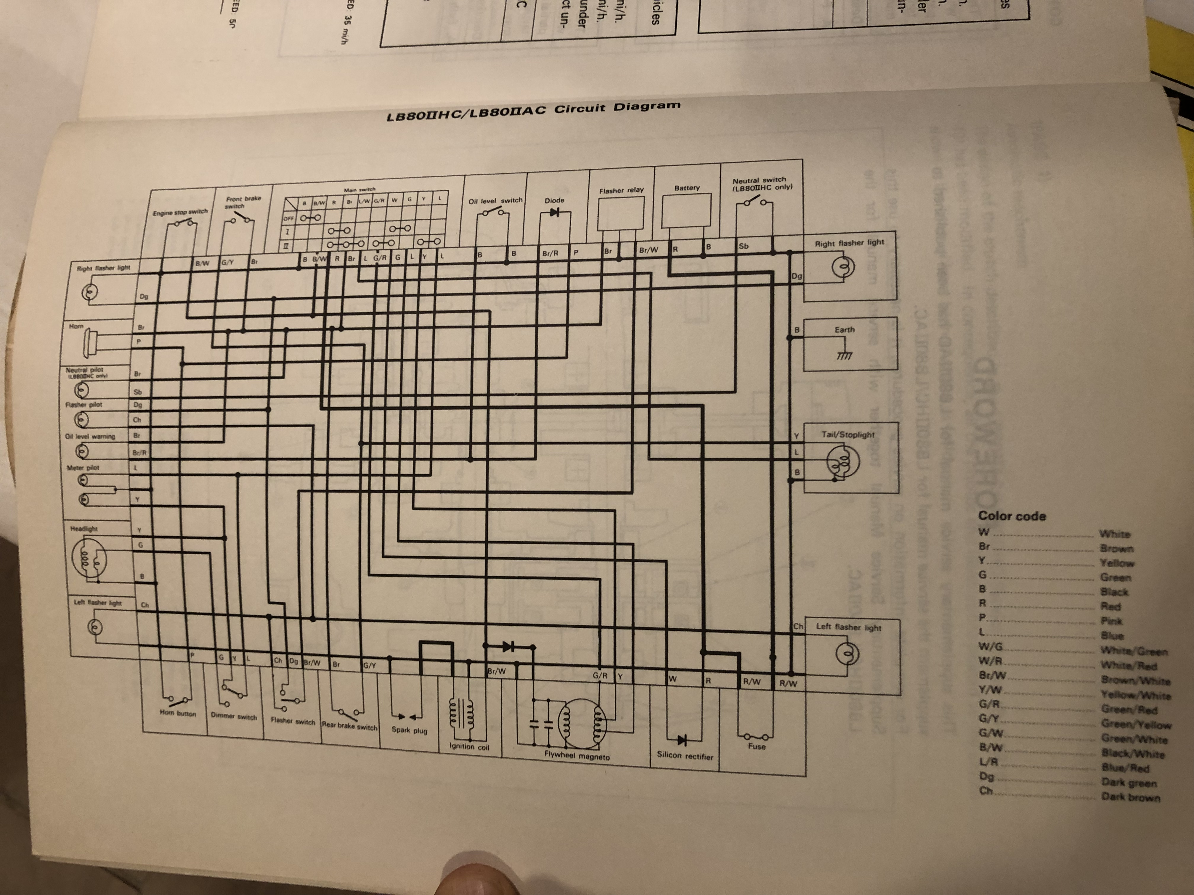 on yamaha lb80 wiring diagram
