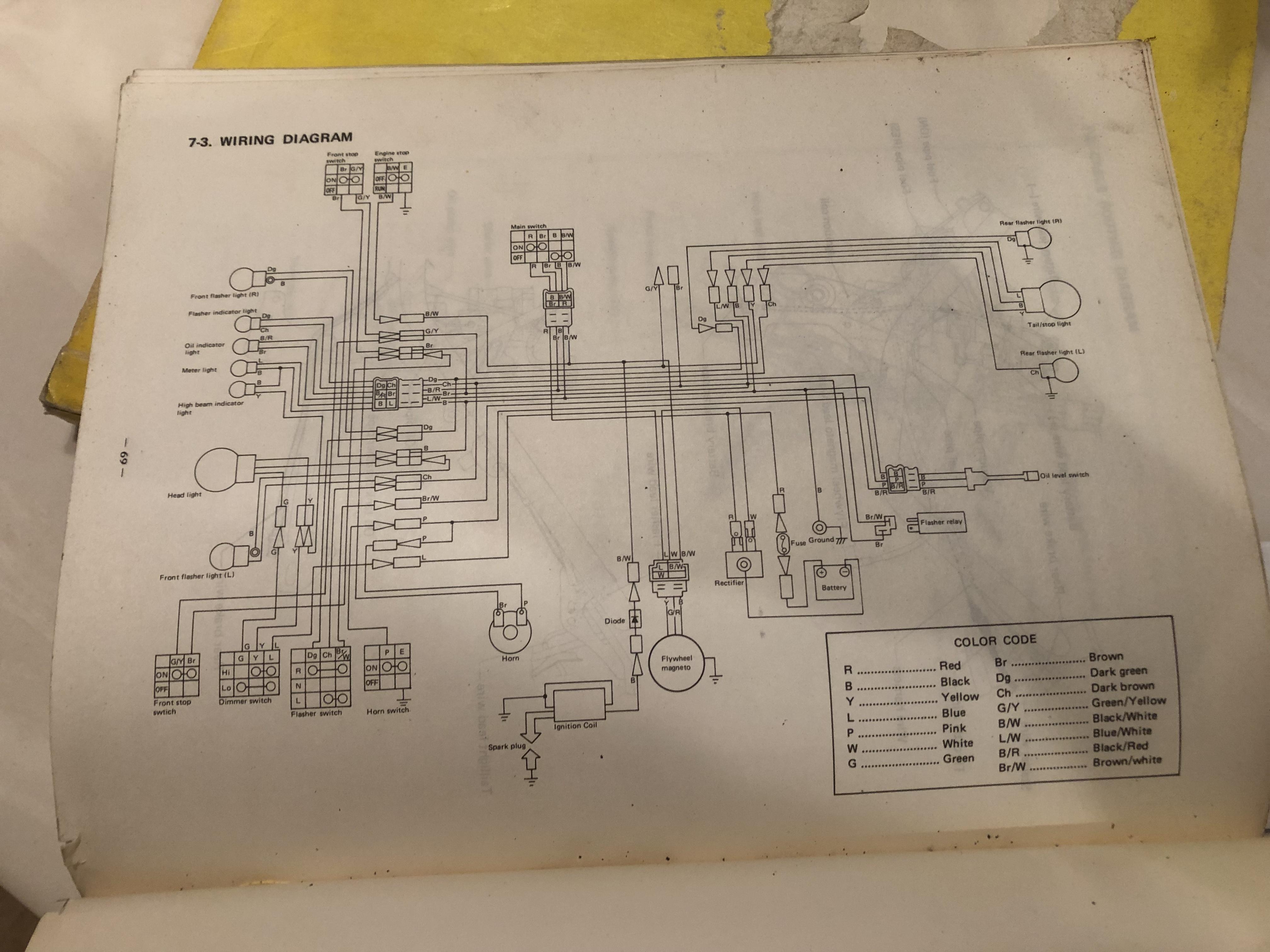 Yamaha 4 3 Wiring Diagram
