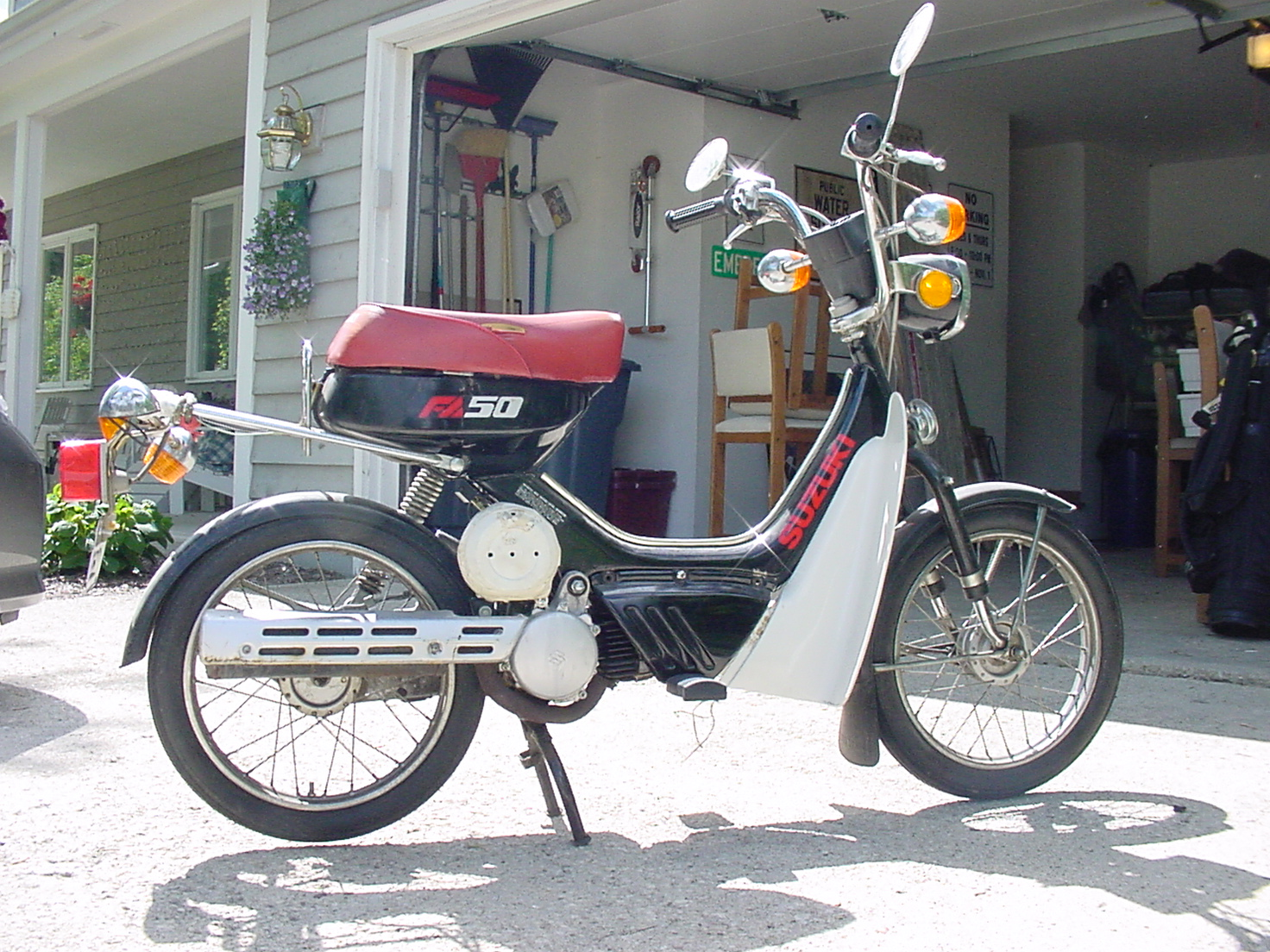 Suzuki Fz50 Aftermarket Parts Wiring Diagram Any Advice On A Fa50 Moped Army
