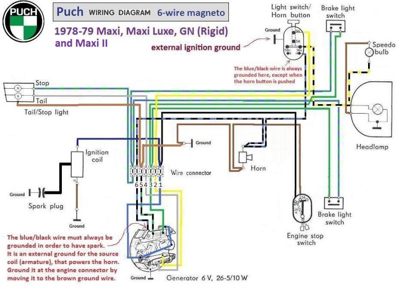 1978 puch wiring diagram wiring diagrams