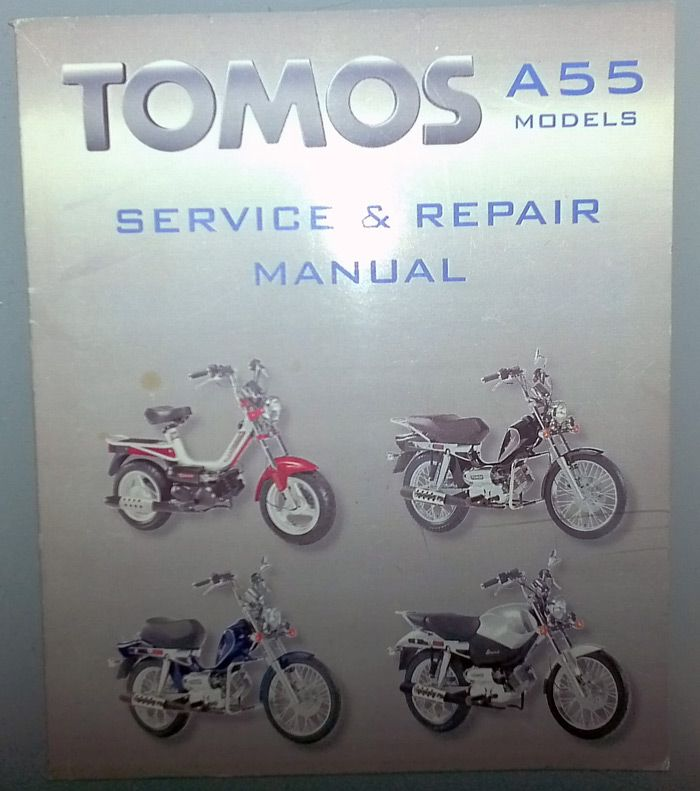 any need for digital copy of tomos a55 manual? \u2014 moped army Tomos Nitro 50Cc Electrical Wiring