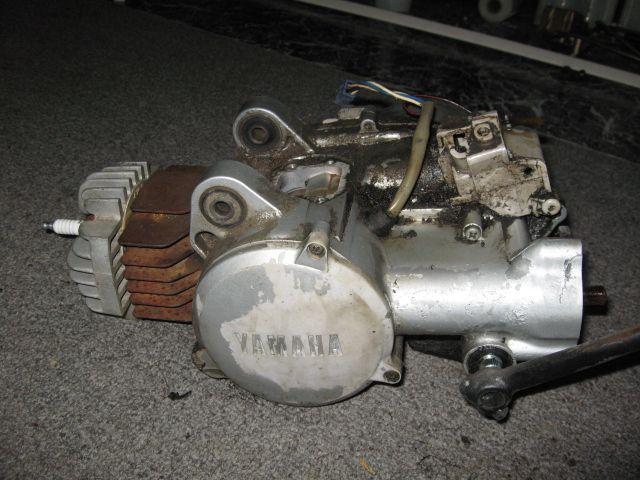 Yamaha QT50 Engine $75 FREE SHIPPING — Moped Army