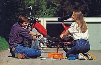 Young Moped Love