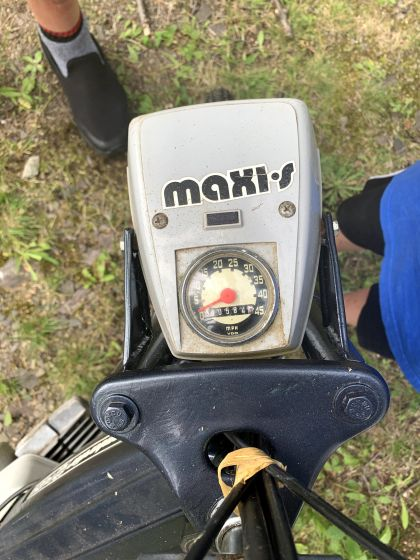 1976 Puch Maxi S, Barn Find in Eastern province of Québec