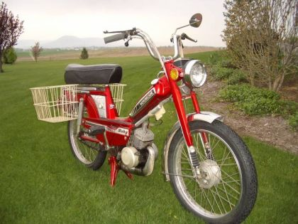 1978 Motobecane Moby, with baskets