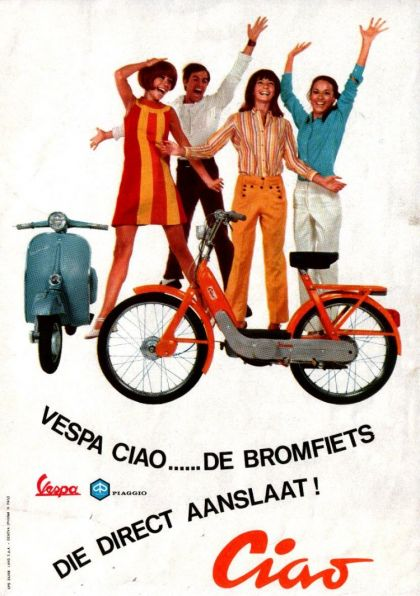 1968 Vespa, Happy people (Dutch)