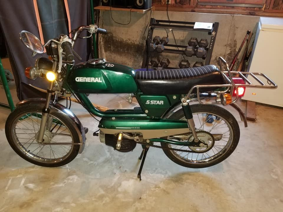 1980 General 5 Star, 1980 General Moped