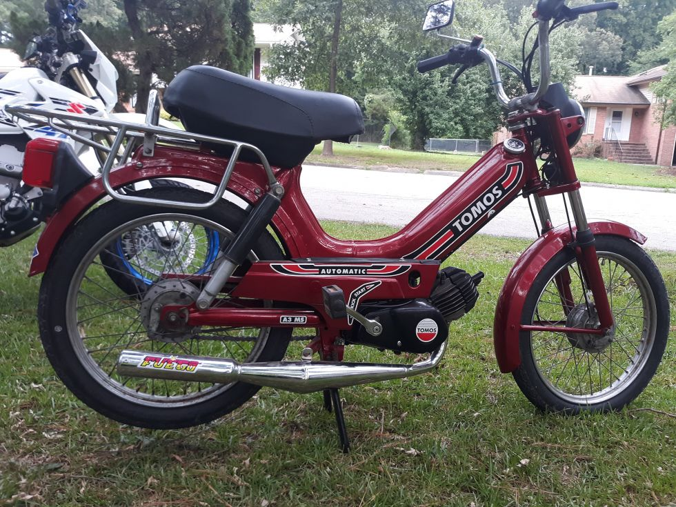 1990 Tomos A-3 Bullet, Restoration project