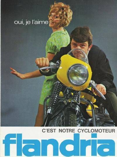 1968 Flandria Record, French Ad