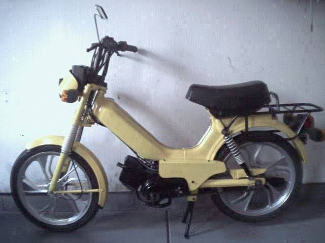 1995 Tomos Sprint, Canary Yellow