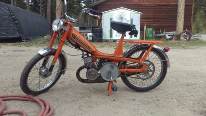 Motobecane 40T, Orange