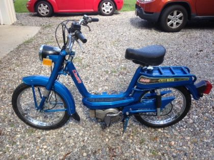 Cimatti City Bike, Blue