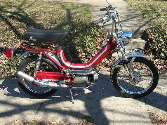 1980 Testi Cricket, 75cc Polini Kit, Bullet Exhaust, 15mm D'elloto