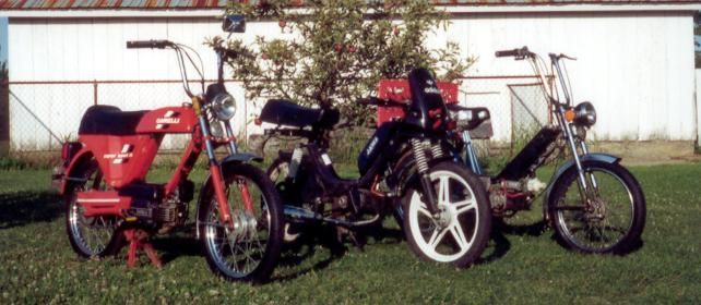 1984 Garelli Super Sport XL, Red, with Jawa 210