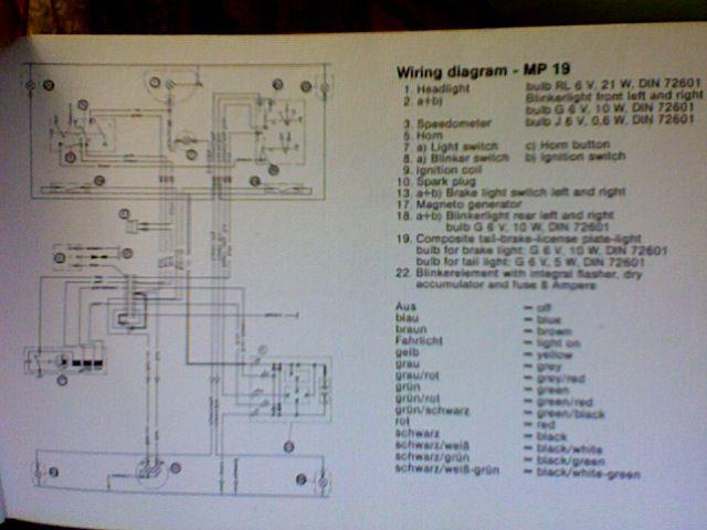 Kreidler Wiring Diagram