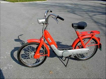 1972 Vespa Ciao, Eurpean Model, Red