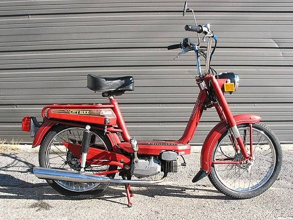 1978 Cimatti City Bike, Red