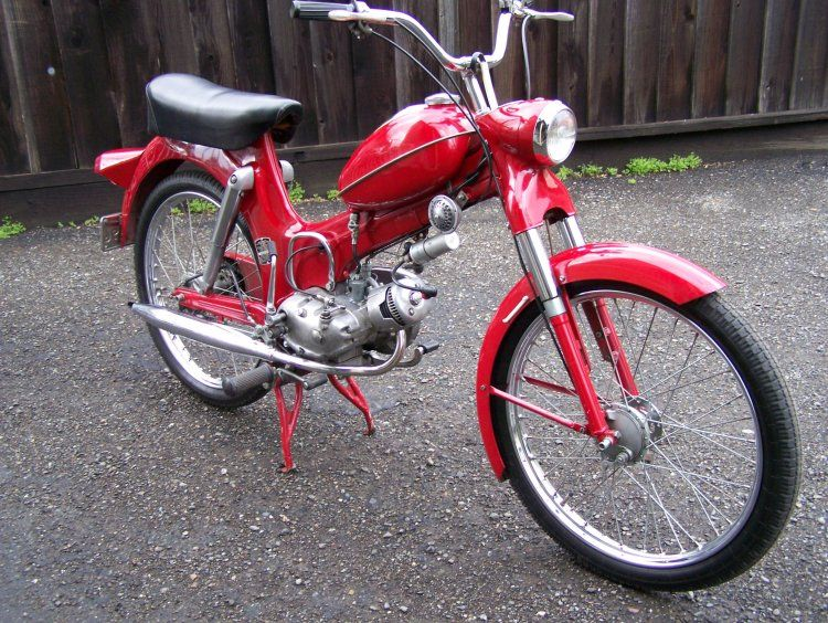 1968 Puch Campus 50, Red