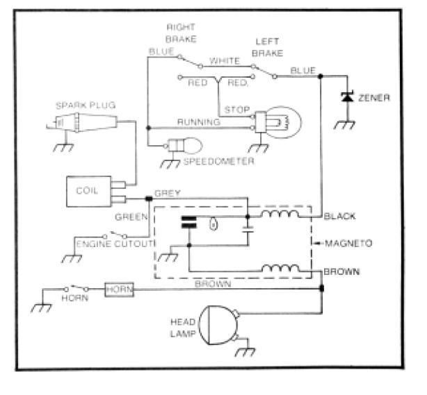 Amf Roadmaster Moped Wiring Diagram