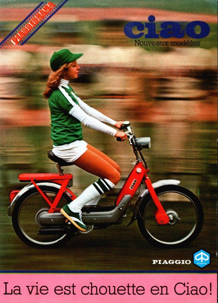 1979 Vespa, Baseball girl