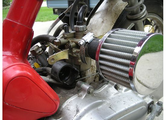 1981 Honda Express K & N Air Filter.jpg