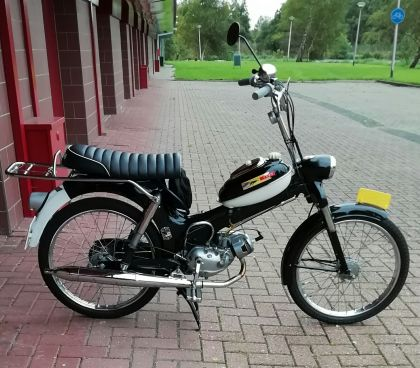 1956 Puch MS50, Fully restored by former owner.