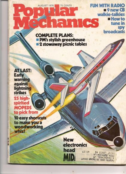 Popular Mechanics moped review cover