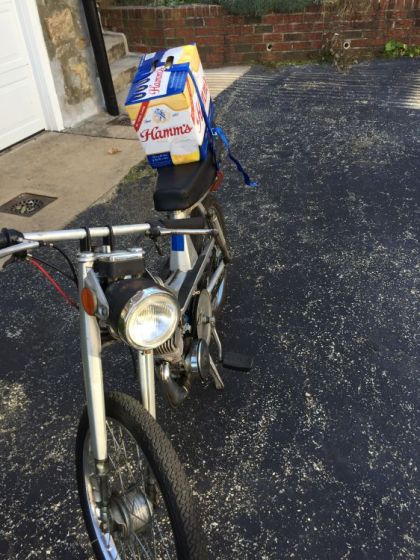 Motobecane, with Hamm's beer