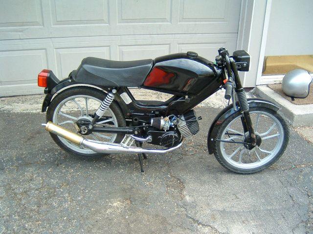 Re: Custom Tomos Targa LX — Moped Army