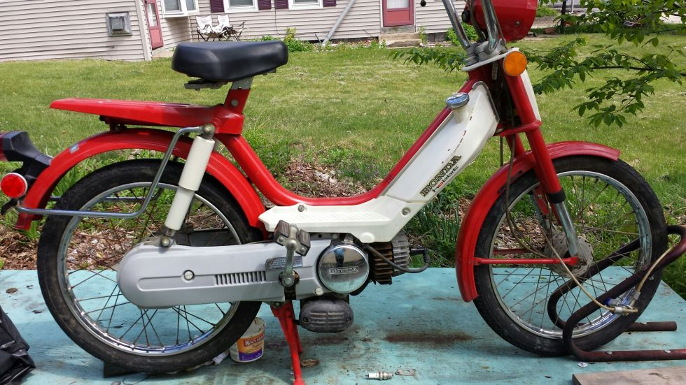 1978 Honda Hobbit, Red Hobbit
