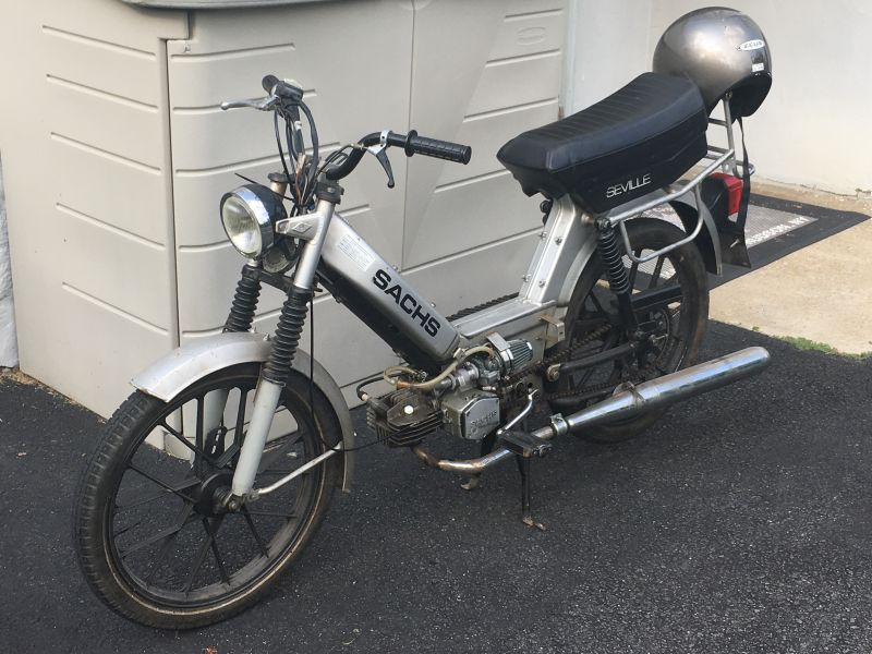 sachs seville sputtering and backfire at WOT — Moped Army