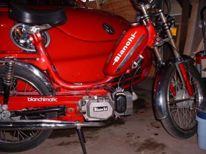 1976 Bianchi Bianchimatic, Red