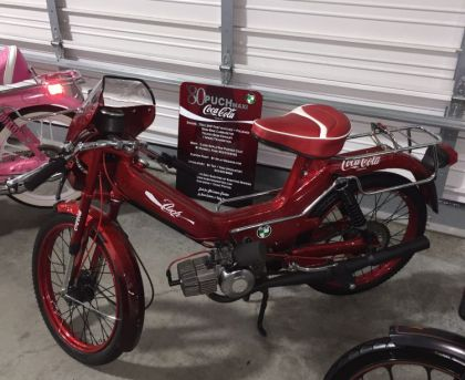 Puch Maxi Sport, Coca-Coloa moped