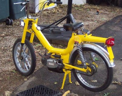 1981 Scorpion SC-1, Yellow