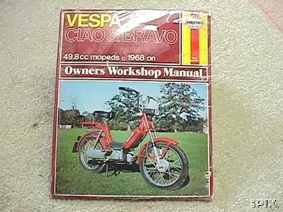 Vespa Ciao, Haynes Manual