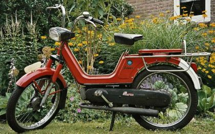 1967 Vespa Boxer 2, Red
