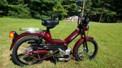 1984 Puch Maxi, PC Red