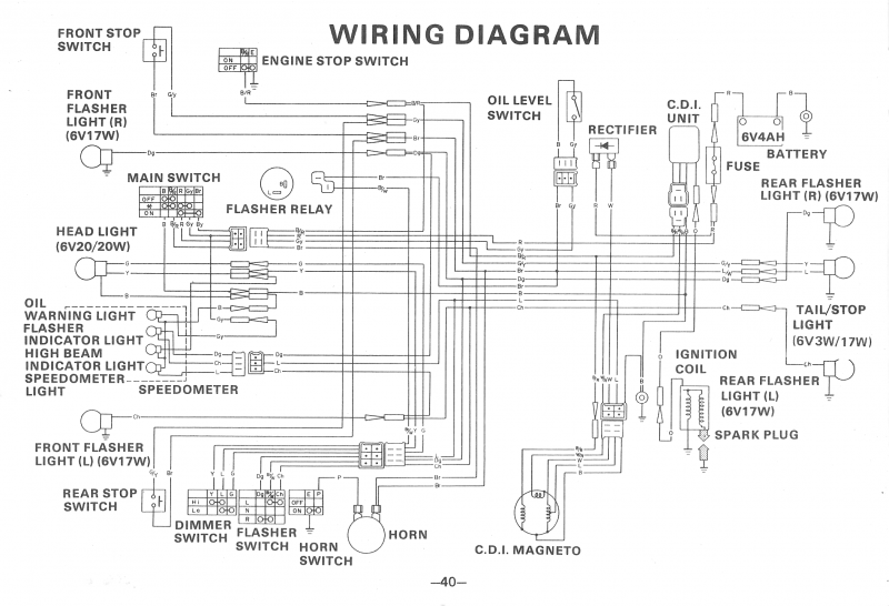 QT50 Key bypass — Moped Army | 1979 Yamaha Qt50 Wiring Diagram |  | Moped Army