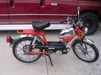 1980 Sachs Prima, Red