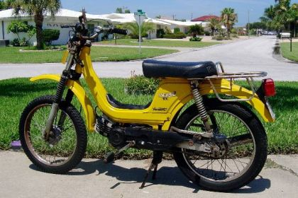 1980 Derbi Variant TT, Yellow