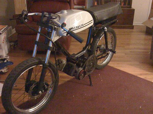 Twin Engine 100cc Batavus, Waste Spark Ignition — Moped Army